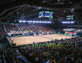 3728168cb91a7 Hall 12: the perfect venue for sports events